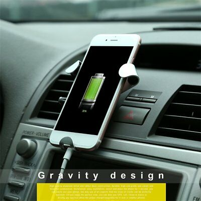 Universal Auto Flexible 3-Claw Gravity Smart Phone Air Vents Car Mount Holder