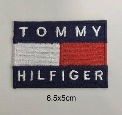 Tommy Hilfiger Logo iron/sew on Embroidery patch