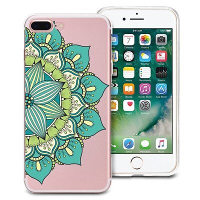 TPU Printed Mandala Soft Silicon Gel Case Cover For iPhone 6s 6 /7/8 Plus WN