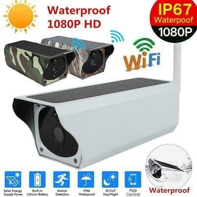 1080P Wifi Solar Security IP Camera Surveillance Camera IR Night Vision Outdoor