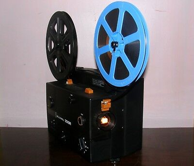 Bell and Howell 33SR Super 8 SOUND Movie Projector in Box & Bulb ~SERVICED~