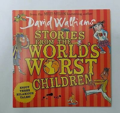 David Walliams ~ Stories from the Worlds Worst Children ~ Daily Mail Promo CD