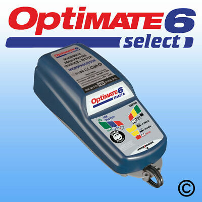 OptiMate 6 Select - 12V Battery Charger and Optimiser -  Official Optimate Retai