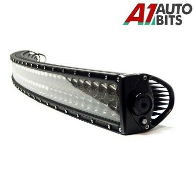"""31"""" 180w Curved Cree LED Light Bar Spot IP68 Driving Light Off Road 4WD Boat"""
