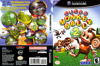 Super Monkey Ball 2 ( Nintendo Gamecube ) Manual Only