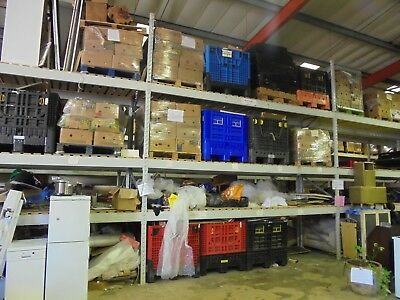 Heavy Duty Racking 6 X 2 Inch Approx 16Ft High X 14Ft 9 Inch Wide 10 Bays