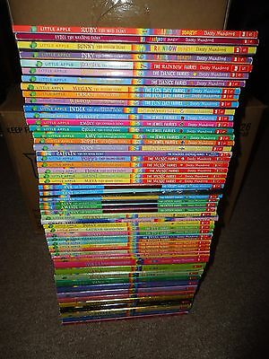 Lot 53 Rainbow Magic Books Daisy Meadows Fairies Fun Day Music Jewel Pet Special
