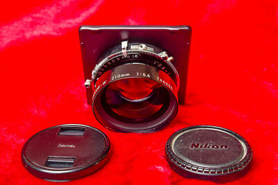 Nikkor-W 210mm f5.6 lens for 4X5 and 5X7 Large format cameras
