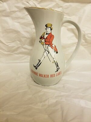 Johnnie Walker Red Label Pitcher Made In England, Staffordshire