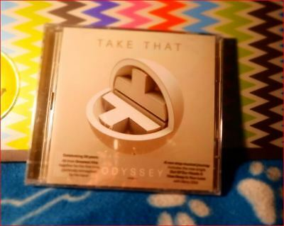 """2xCD UK#1 Take That/Best of Reimagined New sealed 2018 Fast Freepost  """"Odyssey"""""""