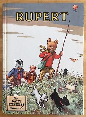 RUPERT ORIGINAL ANNUAL 1955 NOT Inscribed NOT Price Clipped Near FINE JAN SALE!