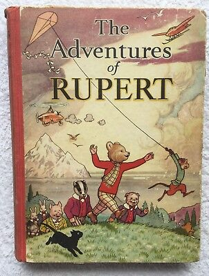 RUPERT BEAR ANNUAL 1939 ORIGINAL Inscribed. BRIGHT & CLEAN SOUND VG JANUARY SALE