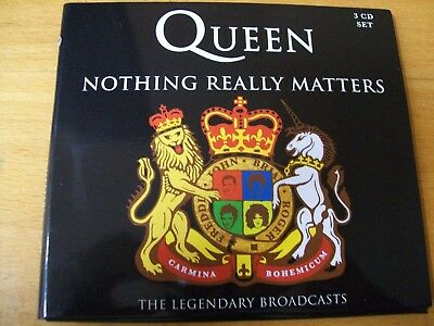 Queen Nothing Really Matters Triplo Cd  Ex+ (Unofficial)