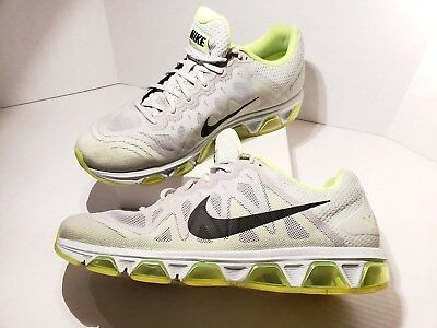 new products 48409 400f4 NIKE AIR MAX Gray Green Waffle Skin Men s Running Shoes 683632-007 Sz 13 EUC