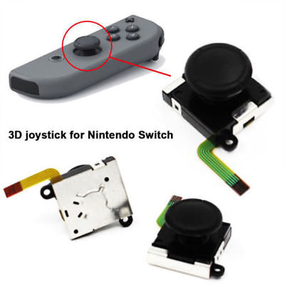 Replace 3D Stick Rocker Analog Joystick Thumb For Nintendo Switch Joy-Con G6U3H
