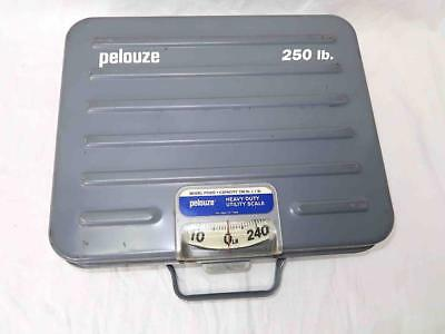 Pelouze Heavy Duty Utility Scale: Briefcase Handle: Model P250S: Great Condition
