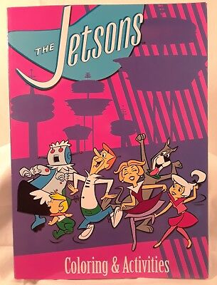 The Jetsons coloring and activities book, 2014, Hanna-barbera