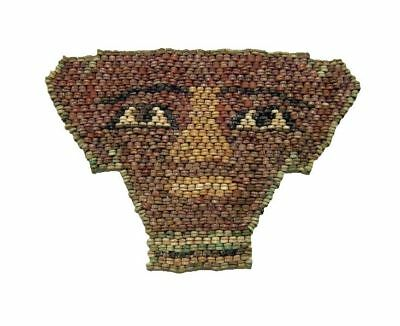 Egyptian Faience Bead Mummy Mask