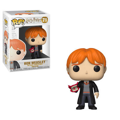 Harry Potter - Ron W/Howler - Funko Pop! Movies: (2018, Toy NUEVO)