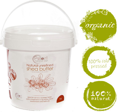 Shea Butter Unrefined Natural 100% PURE & RAW from GHANA 1kg