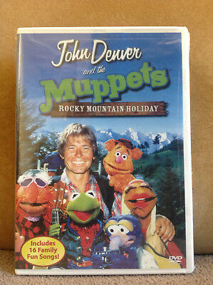 John Denver and the Muppets - A Rocky Mountain Holiday (DVD, 2003) NEW & SEALED