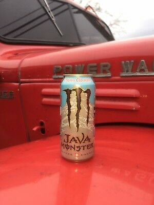 Monster Energy Java SWISS CHOCOLATE Brand New (FULL CANS) (15 FL. OZ. Cans)