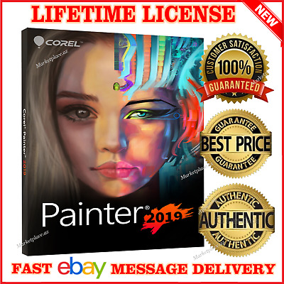 Corel Painter 2019 Official Windows Mac🔑lifetime License🔑fast Email Delivery🔥