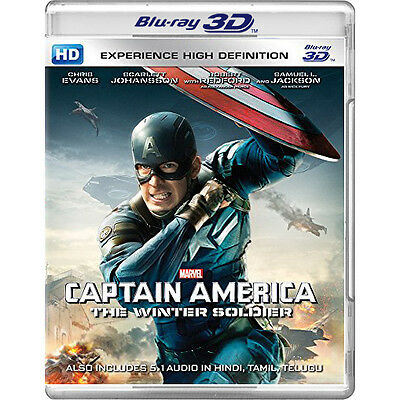 Captain America: The Winter Soldier (2014) (Blu-ray 3D)