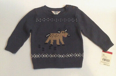 Osh Kosh Toddler Boys Winter Holiday Sweater Size 18 months NWT
