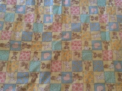 Precious Moments Quilt Baby Crib Lap Throw Quilt Blanket