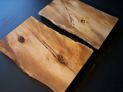 2 x BLACKHEART SASSAFRAS Craft Boards Cheese Platters Bread boards