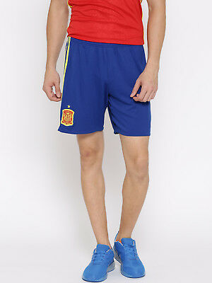 AA0847 Men's -Adidas FEF H SPAIN National Team Climalite Football Shorts Size -S