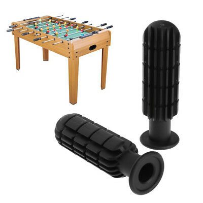 Sturdy Table Soccer Handle Black Replacement Football Handle Part Accessories