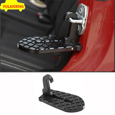 Car Doorstep Vehicle Folding Ladder Foot Pegs Rooftop Safety for Jeep SUV ford