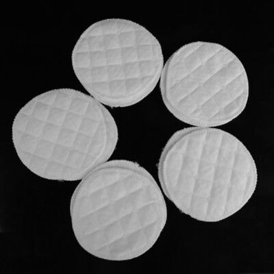10pcs Soft Washable Absorbent Reusable Breastfeeding Baby Cotton Nursing Pads