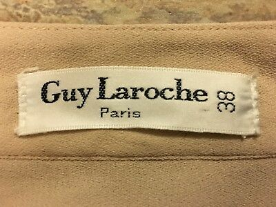 Guy Laroche Paris size 38in womens button down long sleeved shirt vintage