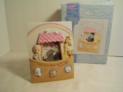 precious moments picture frame baby 744007