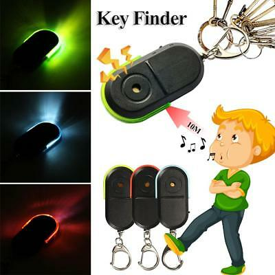 JUST WHISTLE LOST Car Key Finder Locator With Led Light Key