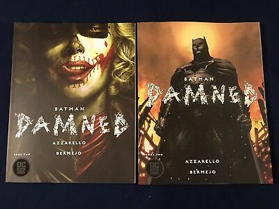 Batman Damned #2 Bermejo + Jim Lee Variant Dc Black Label Comics Nm