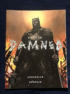 Batman Damned 2 Jim Lee Variant Dc Comics Black Label