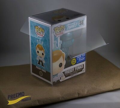 "Funko Pop! Protectors - 4"" Vinyl - Acid Free - Crystal Clear- 5-pack to 100-pack"