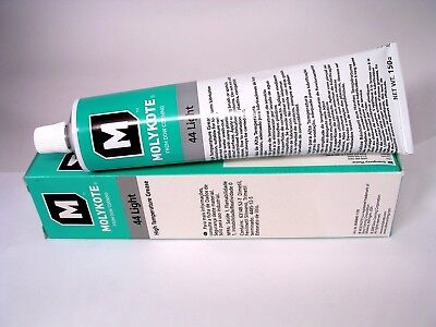 DOW CORNING MOLYKOTE 44 L Light High Temp Silicone Grease Lubricant 5.3 oz Tube