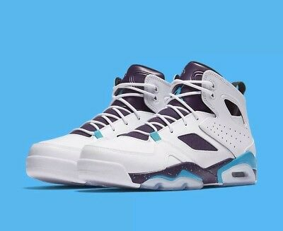 d51294c1aa44 JORDAN FLIGHT CLUB 91 WHITE BLUE LAGOON GRAND PURPLE (555475-105 ...