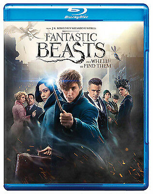 Fantastic Beasts and Where to Find Them(Blu-ray (All Region) (2017) (NEW)