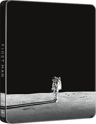 First Man (STEELBOOK) (2018) (Blu-ray) (Region Free) (New) SHIPS NOW
