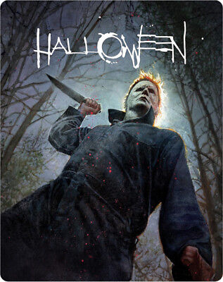 Halloween (STEELBOOK) (2018) (Blu-ray) (Region Free) (New)