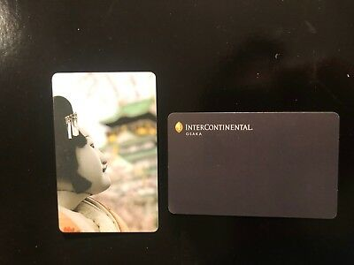 Intercontinental Osaka Hotel Room Key Card