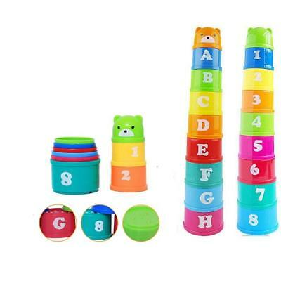 Folding Cup Children Early Childhood Educational Learning Baby Kid Toys 0-1 Year