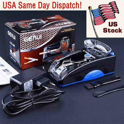 Electric Automatic Cigarette Rolling Machine Tobacco Injector Maker Rollers Tool