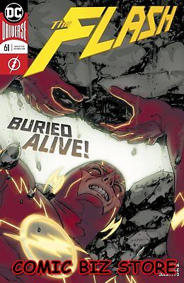Flash #61 (2019) 1St Printing Yardin Main Cover Dc Universe Bagged & Boarded